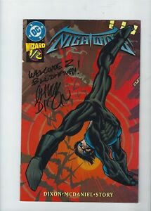 NIGHTWING #1/2 (Wizard Edition) DIXON, MCDANIEL,Batman, DC Comics, NM