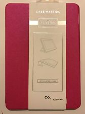 Case Mate Tuxedo Folio Integrated Stand Case For iPad Air2 (Pink)