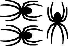 "Spider Graphics Car Vinyl Decals, Stickers (3 - 1.5"" x .75"")"