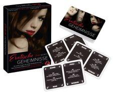 Erotische Geheimnisse Erotik Kartenspiel Sexspiel Trinkspiel Partyspiel Peinlich
