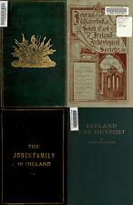 150 RARE BOOKS ON IRELAND IRISH HISTORY GENEALOGY ANCESTRY RECORDS - VOL3 ON DVD