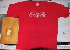 Vintage NEW Original Enjoy Coca Cola Coke T-Shirt '80s Mail-in Offer w/mailer!!!
