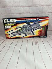 NIB Vintage GI Joe Skystorm X-Wing Chopper 1987 New in Box