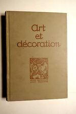 Revue ART et DECORATION 2e sem. 1923 Francis JOURDAIN C. LINOSSIER René PIOT