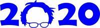 Bernie Sanders Vinyl Decal Bumper Sticker 2020 Presidential Feel the Bern Decal