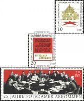 DDR 1598-1600 (kompl.Ausgabe) gestempelt 1970 Potsdamer Abkommen EUR 0,70