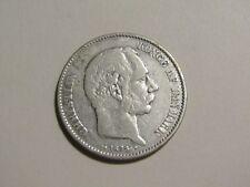 Denmark 1875 2 Kroner silver Coin