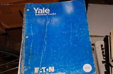 Yale Modell Mp Niedrige Heben Paletten Gabelstapler Teile Manuell Buch Katalog