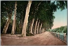Aranjuez. Salón de los Reyes católicos.  PZ vintage photochromie,  photochromi