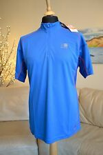 KARRIMOR NEW Top Blue DRX Trek Running Half Zip T-Shirt Mens Sz. Large - BNWT