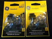 2 packs GE  3057 replacement Automotive bulb - 4 Light Bulbs