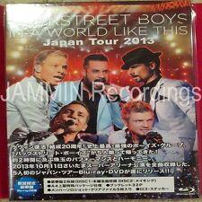 BACKSTREET BOYS - IN A WORLD LIKE THIS - JAPAN TOUR - BLU-RAY FAN Edition Set