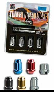 "Gorilla Small Wheel Lock Kit 14-1.50 13/16""/7/8"" Dual Hex Chrome 26641SD"