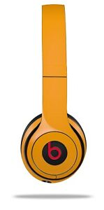 Skin Beats Solo 2 3 Solids Collection Orange Wireless Headphones NOT INCLUDED