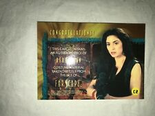 Farscape Aeryn Sun (Claudia Black) Season One Costume Card C2