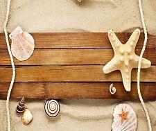 STARFISH SEASHELL ROPE BEACH MOUSE PAD 9 X 7