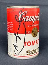 ANDY WARHOL -  Campbell's Soup Can ! TOMATO SOUP!!