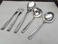 4590 1 Gedeck  3-teilig 90er Silberauflage WMF Onda Besteckset