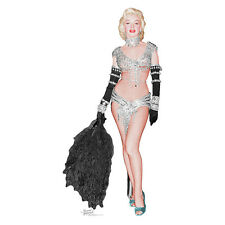 MARILYN MONROE IN SHOWGIRL COSTUME Lifesize CARDBOARD CUTOUT Standup Standee