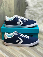 Sneakers Men's Converse Point Star Canvas Navy Blue White Low Top