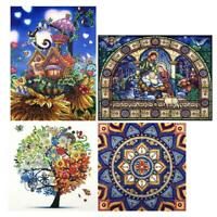 5D DIY Special-shaped Diamond Painting Cross Stitch Embroidery Mosaic Kit Lot AU