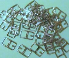 Bitty Buckles-Rectangle-Nickel 18mm More in my Store