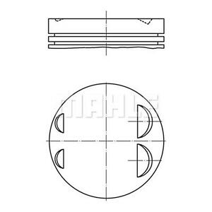 MAHLE Piston 083 19 00 FOR 5 Series 3 Genuine Top German Quality
