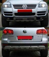 VW TOUAREG 02-06 SOTTOPARAURTI ANTERIORE + SOTTOPARAURTI POSTERIORE - TUNING-GT