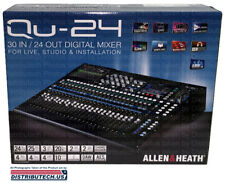 Allen & and Heath QU-24C AH-QU-24C 30-In/24-Out Digital Mixer QU24 NEWEST VER.