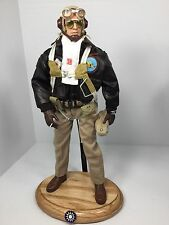 "1/6 DRAGON P-40 AVG""FLYING TIGERS""FIGHTER PILOT WW2 PARACHUTE+STAND BBI DID RC"