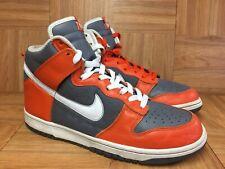 online store b3279 0e717 VTG🔥 Nike Dunk High College Orange White Flint Gray Sz 10 309432-812  Syracuse