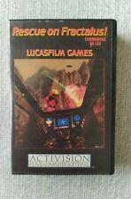 Vintage C64/128 Commodore Rare Game - Rescue On Fractulus Lucasfilm Activision
