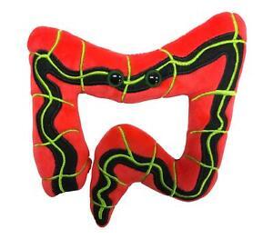 Giant Microbes IBS Irritable Bowel Syndrome Original Plush Toy Educational 14cm