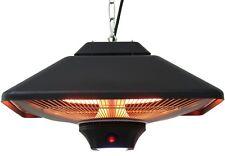 Aktobis Decken-Heizstrahler WDH-200LS (2.000 Watt) mit integrierter LED-Lampe