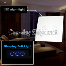 Smart WiFi Wall Light Switch Touch Panel 1 Way 2 Gang Work with Amazon AlexaQ