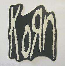 VECCHIO ADESIVO ORIGINALE / Old Original Sticker metal band KORN (cm 9x10)