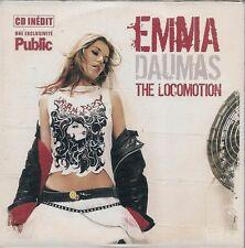 CD SINGLE 2 TITRES PROMO--EMMA DAUMAS--THE LOCOMOTION--2004