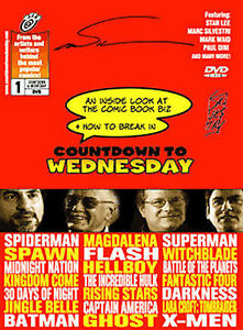 NEW DVD: Countdown To Wednesday (Inside Look at the Comic Book Biz)