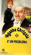 AGATHA CHRISTIE= È un problema=GIALLI OSCAR MONDADORI  =DICEMBRE 1981