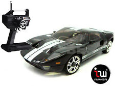 NEW IWAVER 02M FORD GT40 BLACK LE MANS RC CAR 1:28 FM RTR MINI-Z