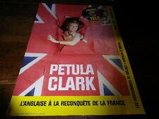 PETULA CLARK - Mini poster couleurs 2 !!!!!!!!!!!!!!!