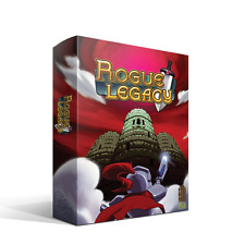 Rogue Legacy Indiebox Limited PC Collectors Edition Mint Sealed w Steam Key