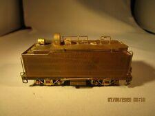 HO Brass United Santa Fe ATSF 2-8-0 Steam Locomotive Oil Bunker Tender Unpainted