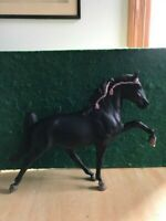 "Breyer Traditional  Horse ""Midnight Sun"" Black Tennessee Walking Horse"