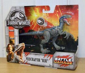 Jurassic World - Velociraptor Blue - Battle Damage dinosaur action figure -