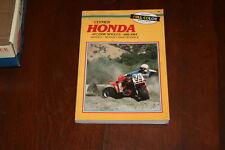CLYMER Honda ATC250R Singles 1981-1984 Service Repair Maintenance Guide