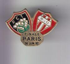RARE PINS PIN'S .. TOURISME EUSKADI 1992 RUGBY RCT TOULON BO BIARRITZ 64 ~DW