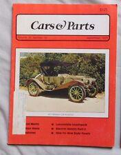 CARS & PARTS September 1977 - 1911 Maxwell GAR Roadster
