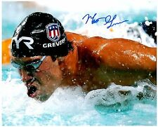 Matt Grevers Signed Autographed Team U.S.A. Olympic Swimming 8x10 Pic. A