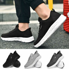 New listing Mens Running Casual Shoes Breathable Sport Jogging Athletic Mesh Tennis Sneakers